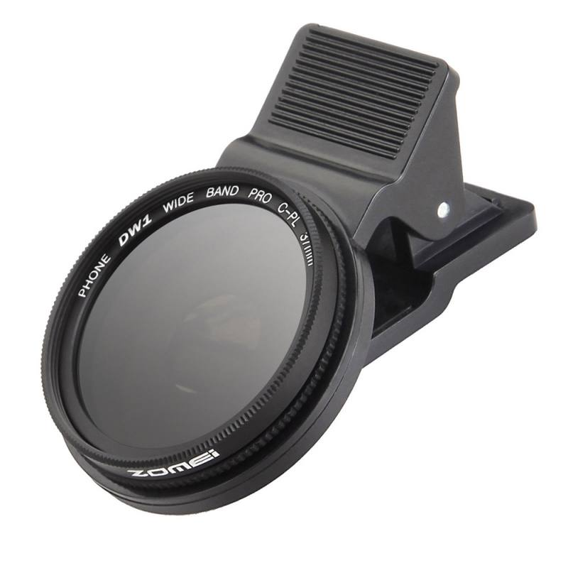37mm Cell Phone Camera CPL Filter Polarizer Circular Lens wi