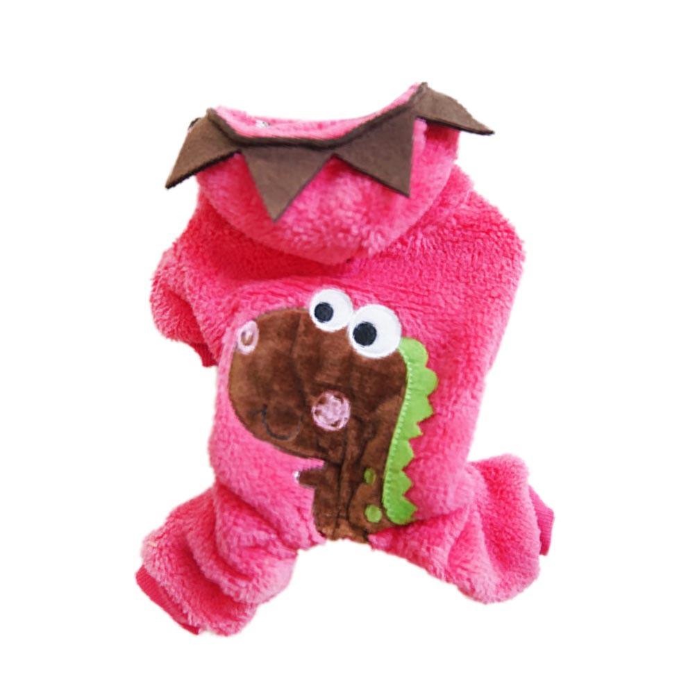 Pet-Dog-Hoodie-Sweater-Coat-Clothes-Puppy-Cat-Winter-Wram-Fleece-Jacket-Costume thumbnail 18