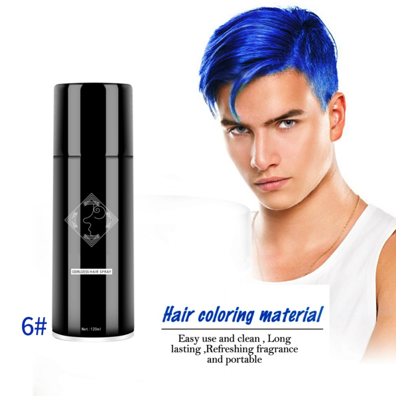 13 Colors Unisex Temporary Crazy Hair Color Spray Instant Color
