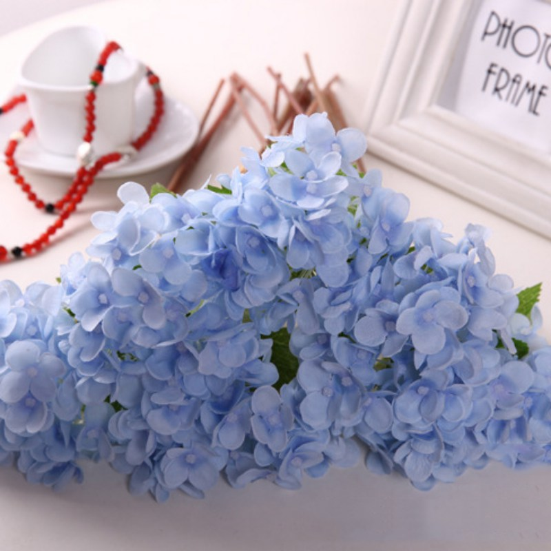 Artificial Fake Roses Silk Flower Floral Wedding Home Bridal Bouquet ...