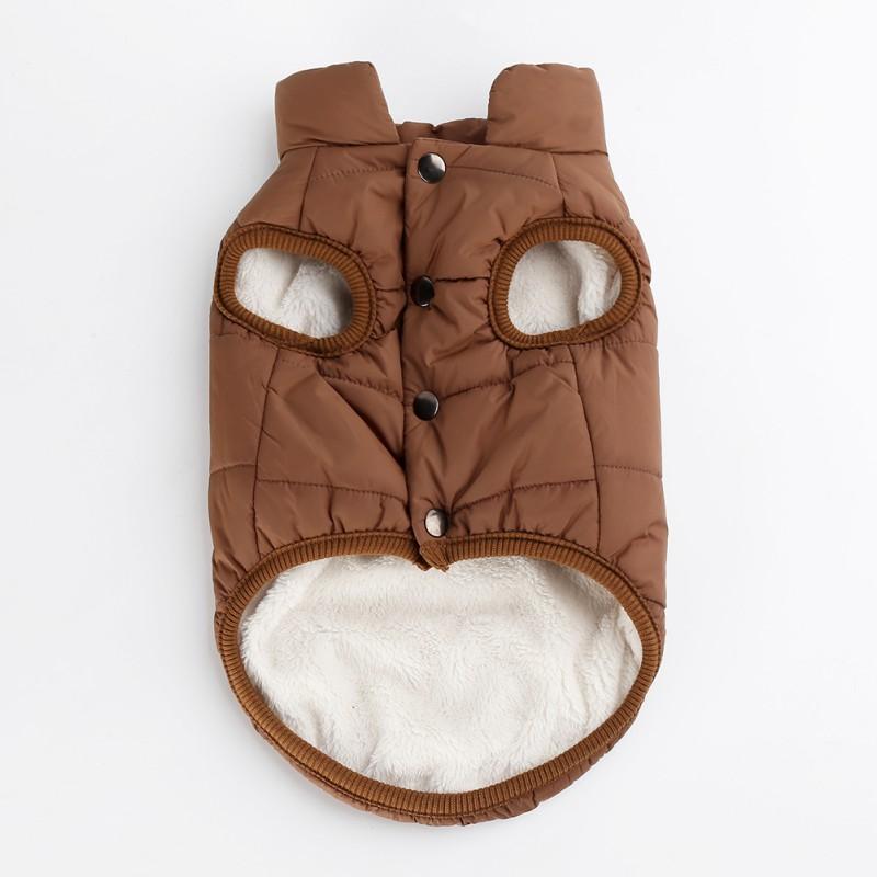 Small-Large-Pet-Dog-Winter-Warm-Coat-Sweater-Puppy-Fleece-Jacket-Vest-Clothes-US thumbnail 14