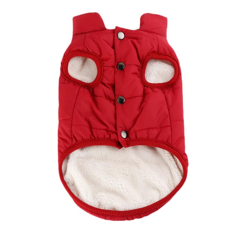 Small-Large-Pet-Dog-Winter-Warm-Coat-Sweater-Puppy-Fleece-Jacket-Vest-Clothes-US thumbnail 16
