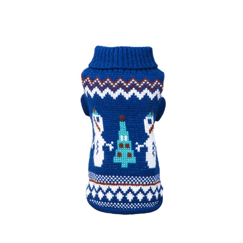 Pet-Cat-Dog-Knitted-Jumper-Winter-Sweater-Warm-Coat-Jacket-Puppy-Clothes-Apparel thumbnail 14