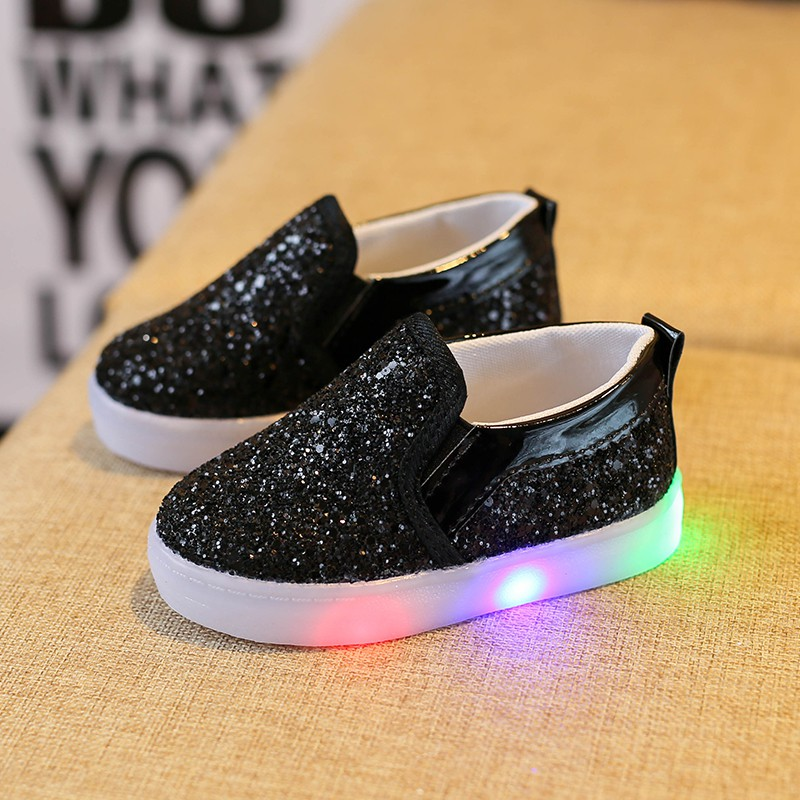Toddler-Baby-Kids-Boys-Girls-LED-Shoes-Light-Up-Luminous-Sport-Trainers-Sneakers