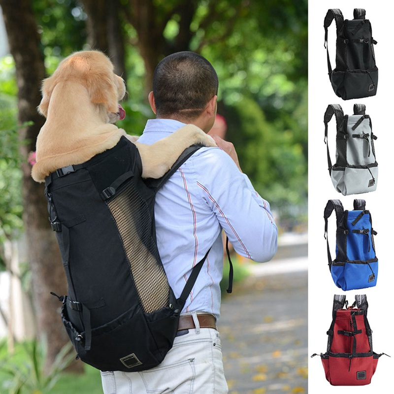 dog legs out front hands free carrier