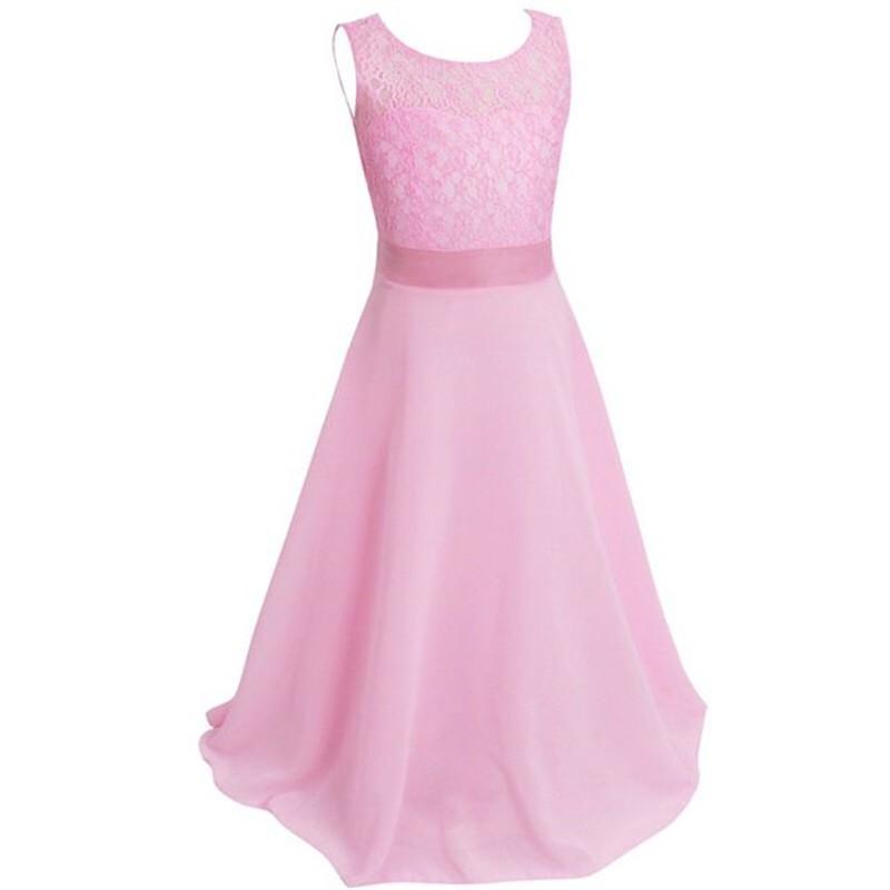 Us Pageant Flower Kid Girl Dress Birthday Wedding Bridesmaid Gown