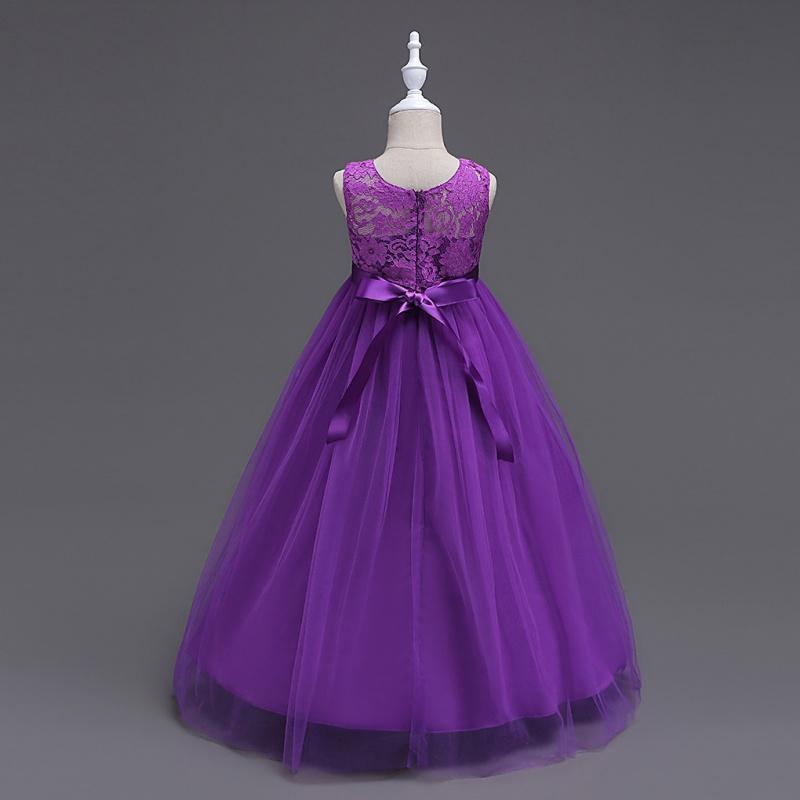 Flower Girl Princess Dress Pageant Wedding Birthday Party Bridesmaid ...