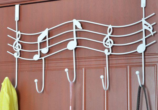 US Music Note Elephant Hanger Over The Door